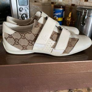 Gucci vintage pelle s gomma shoe